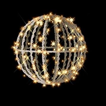 タカショー MKイルミネーション 3Dモチーフ メリディア 40cm MKJ-217C 『エクステリア照明 ライト』 電球色