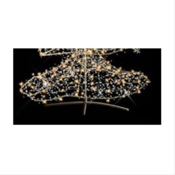 タカショー MKイルミネーション 3Dモチーフ クリスタルツリー 追加2 MKJ-457C 『エクステリア照明 ライト』