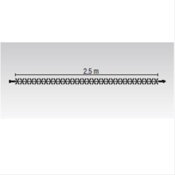 タカショー MKイルミネーション ストリングスライト120 MKJ-509W 『エクステリア照明 ライト』 本体色:クリア/LED色:白
