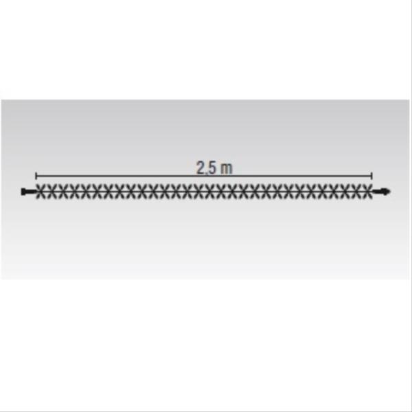 タカショー MKイルミネーション ストリングスライト120 MKJ-508C 『エクステリア照明 ライト』 本体色:クリア/LED色:電球色