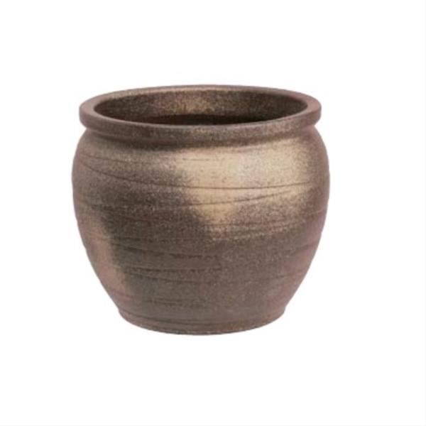 タカショー 古陶壷型水鉢16号 かまはだ