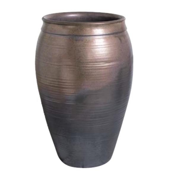 タカショー 窯変金彩大壷水鉢 KTO-035