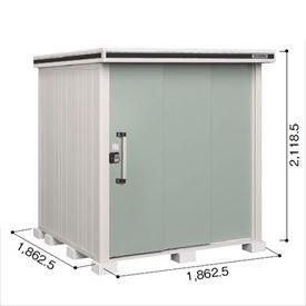 ヨドコウ LMD/エルモ LMD-1818 物置 一般型 標準高タイプ 『追加金額で工事も可能』 『屋外用中型・大型物置』 エバーグリーン