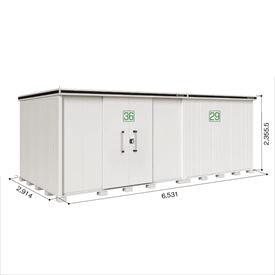 ヨドコウ LMD/エルモ LMD-6529HBL 物置 一般型 背高Hタイプ  『屋外用大型物置』 カシミヤベージュ