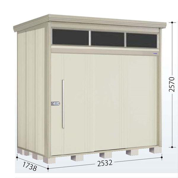 タクボ物置 JNA/トールマン ブライト JNA-S2517W 多雪型 標準屋根 『追加金額で工事も可能』 『屋外用中型・大型物置』 ムーンホワイト