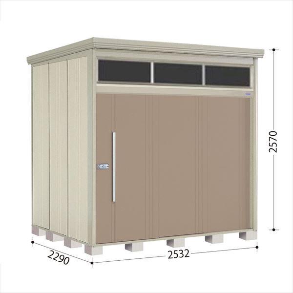 タクボ物置 JNA/トールマン ブライト JNA-2522B 一般型 標準屋根 『追加金額で工事も可能』 『屋外用中型・大型物置』 カーボンブラウン