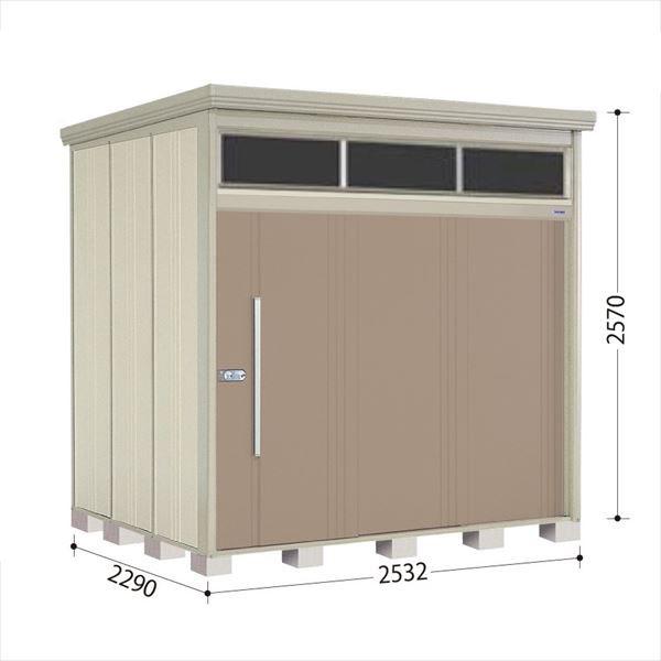 タクボ物置 JNA/トールマン ブライト JNA-S2522B 多雪型 標準屋根 『追加金額で工事も可能』 『屋外用中型・大型物置』 カーボンブラウン