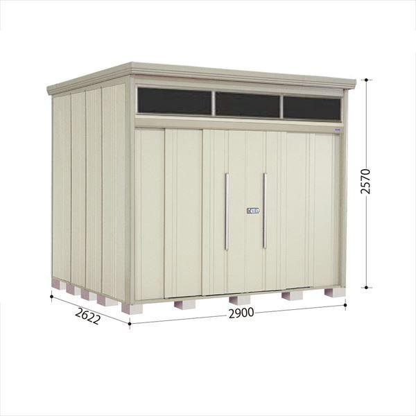タクボ物置 JNA/トールマン ブライト JNA-2926W 一般型 標準屋根 『追加金額で工事も可能』 『屋外用中型・大型物置』 ムーンホワイト