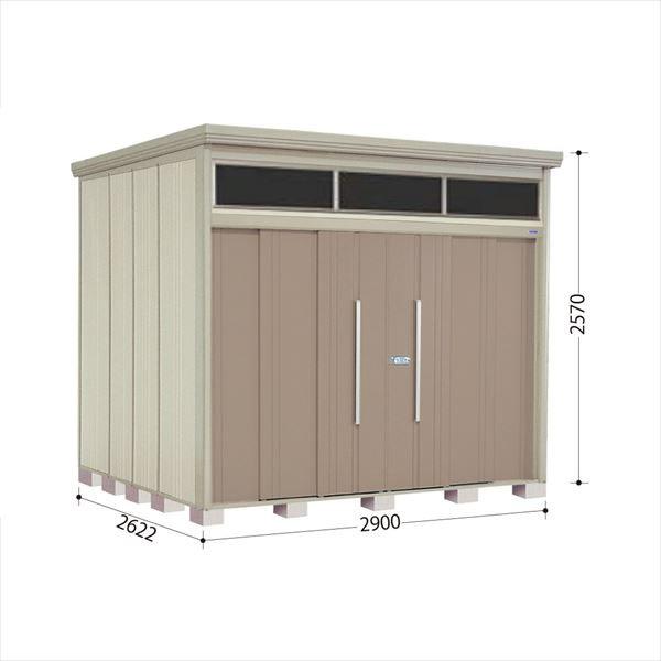 タクボ物置 JNA/トールマン ブライト JNA-2926B 一般型 標準屋根 『追加金額で工事も可能』 『屋外用中型・大型物置』 カーボンブラウン