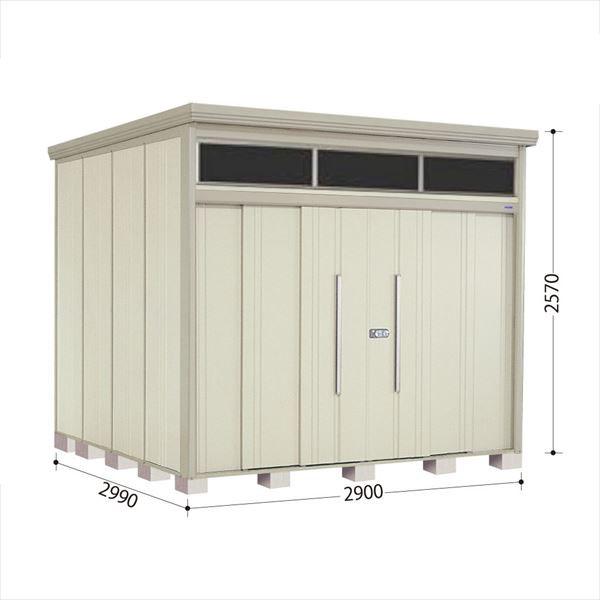 タクボ物置 JNA/トールマン ブライト JNA-S2929W 多雪型 標準屋根 『追加金額で工事も可能』 『屋外用中型・大型物置』 ムーンホワイト