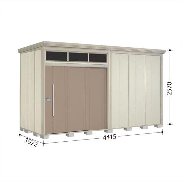 タクボ物置 JNA/トールマン ブライト JNA-4419B 一般型 標準屋根 『追加金額で工事も可能』 『屋外用大型物置』 カーボンブラウン