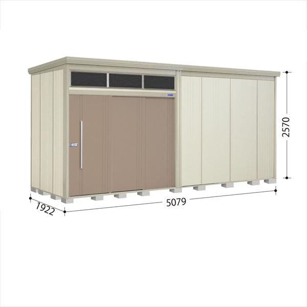 タクボ物置 JNA/トールマン ブライト JNA-5019B 一般型 標準屋根 『追加金額で工事も可能』 『屋外用大型物置』 カーボンブラウン