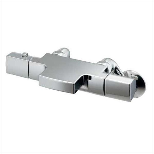 カクダイ 水栓金具 月 サーモスタットシャワー混合栓 173-254K
