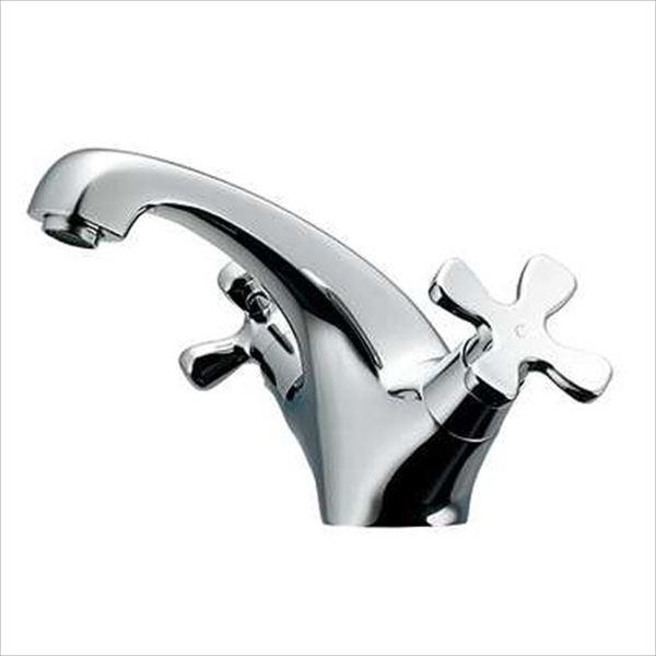 カクダイ 水栓金具 hana 2ハンドル混合栓 150-436