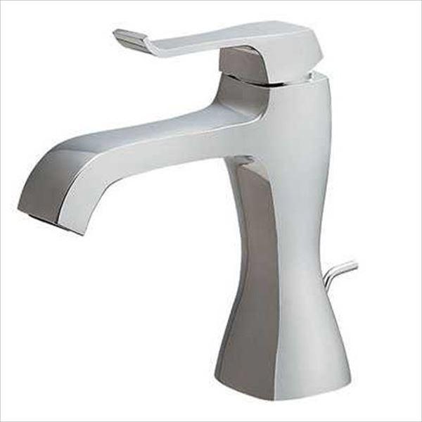 カクダイ 水栓金具 RATONA シングルレバー混合栓 本体水抜付き 183-161K