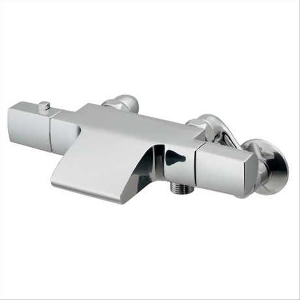 カクダイ 水栓金具 AVALO サーモスタットシャワー混合栓 173-253K