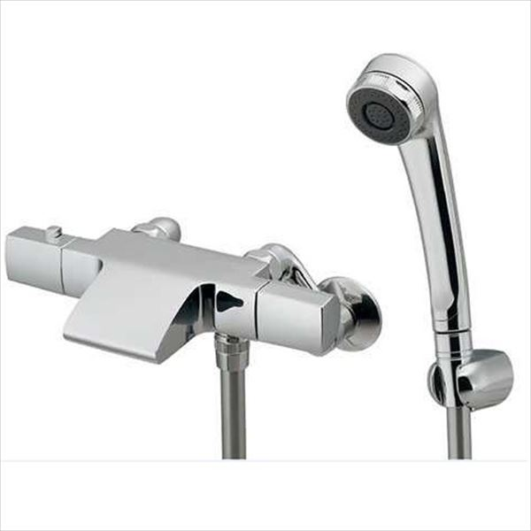 カクダイ 水栓金具 AVALO サーモスタットシャワー混合栓 173-248K