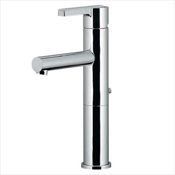 カクダイ 水洗金具 Ren シングルレバー混合栓(ミドル) 引棒付き(直径4ミリ) 183-120