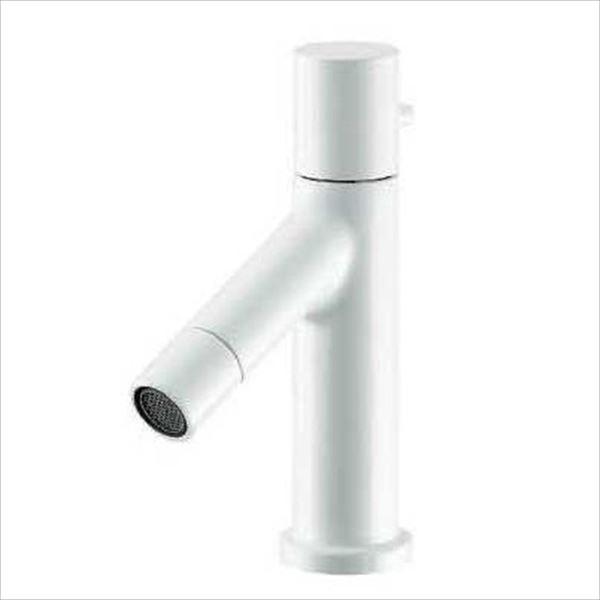 カクダイ 水栓金具 SWEEQ 立水栓(コットンホワイト) 716-839-13