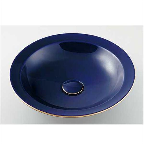 カクダイ 水栓金具 奏 かなで 丸型洗面器(ラピス) 493-055-B