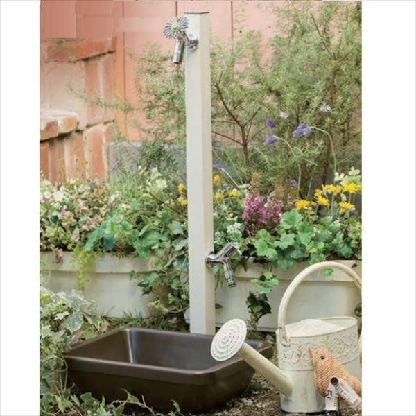 新しい季節 オンリーワン アクアルージュW 水栓柱 TK3-SKWV +水鉢セット   バニラ, ネリマク f06bd49b