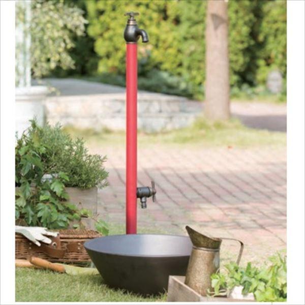 オンリーワン エポカW 水栓柱 TK3-SEWMW (専用蛇口・補助蛇口付属)+水鉢セット   マットワインレッド, 中古スマホとsimフリーの携帯少年 9e41f0a2