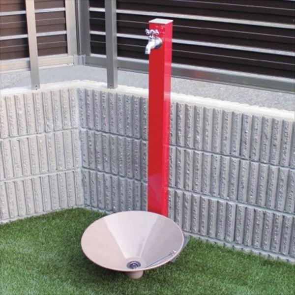 オンリーワン カラーアルミ立水栓 Lite(蛇口セット) 水栓柱 GM3-ALWRF +水鉢セット   ワインレッド, パーティードレス通販Smile Orchid 38a72616