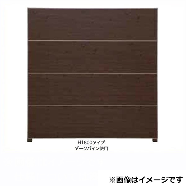 タカショー  エバーアートボードフェンス 2型セット 片面 60角柱 両柱 砂肌白茶(受注生産品)※見切材ステン