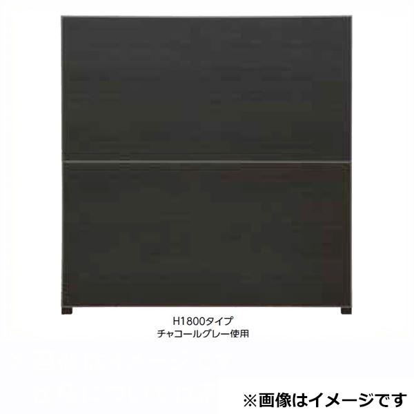 タカショー  エバーアートボードフェンス 4型セット 片面 60角柱 両柱 チャコールグレー(受注生産品)※見切材ステン