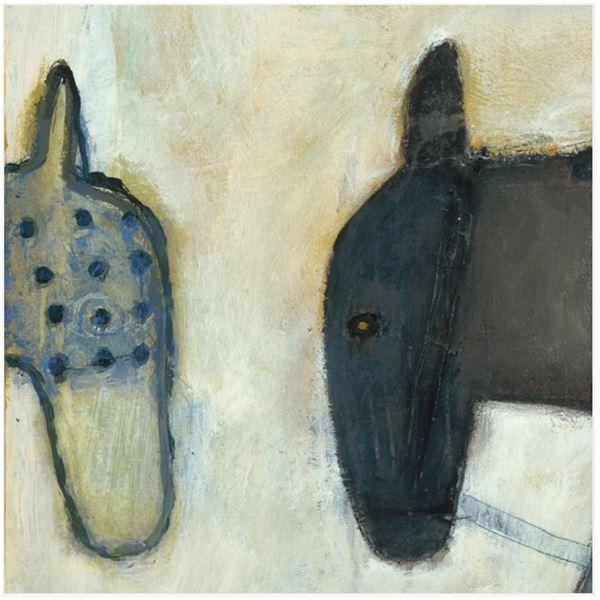 スパイス SUGARBOO TWO HORSE HEADS #SP115-12x12inch
