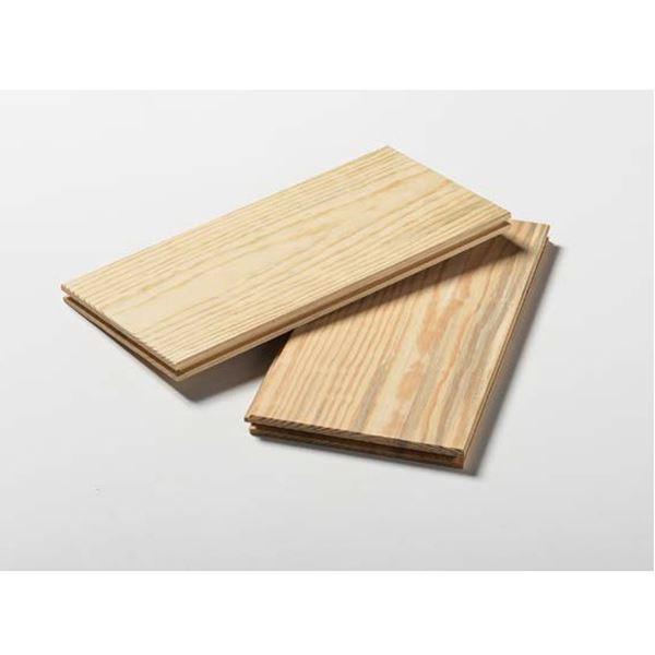 天然木部材 マツスマイルフローリング ヘリンボーン+パーケット 1ケース 36枚(1.65平米分) #MSFL0010 無塗装