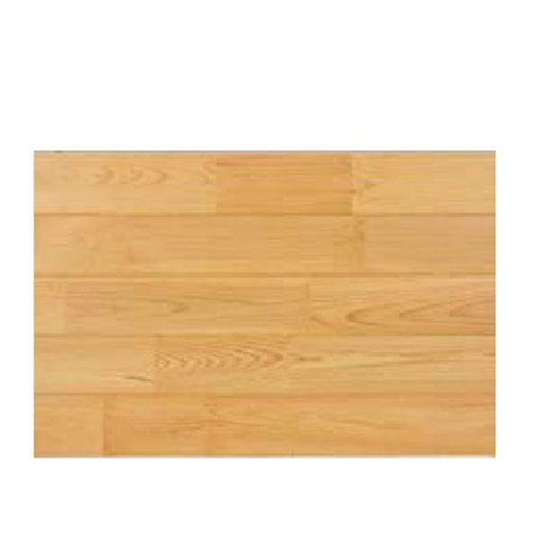 天然木部材 マツスマイルフローリング ウォールブロックパネル ナチュラルコート塗装 1ケース(1.65平米分) #MSPN0001 砥粉