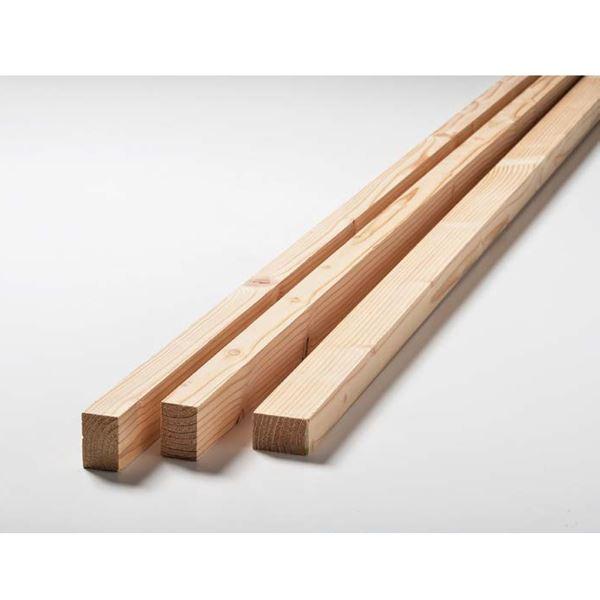 天然木部材 カラ松ルーバー 1ケース(5本入り) #MSLV0001 無塗装【受注生産品】