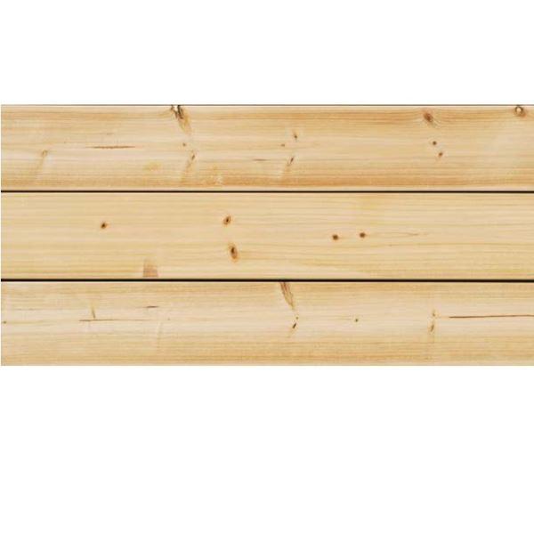 天然木部材 福杉ウッドデッキ 節有グレード 無塗装 30×140×3900mm 3枚セット   PHDK0004