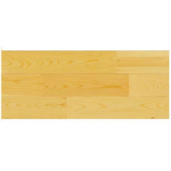 天然木部材 エコプレーゼ あづみの松 無地上小グレード LIVOSオイル塗装 幅114mm 8枚入り 受注生産 ナチュラル色 #WPFL0023