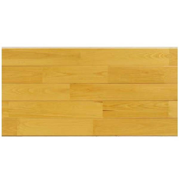 天然木部材 エコプレーゼ あづみの松 無地上小グレード LIVOSオイル塗装 幅152mm 6枚入り 受注生産 オーク色 #WPFL0044