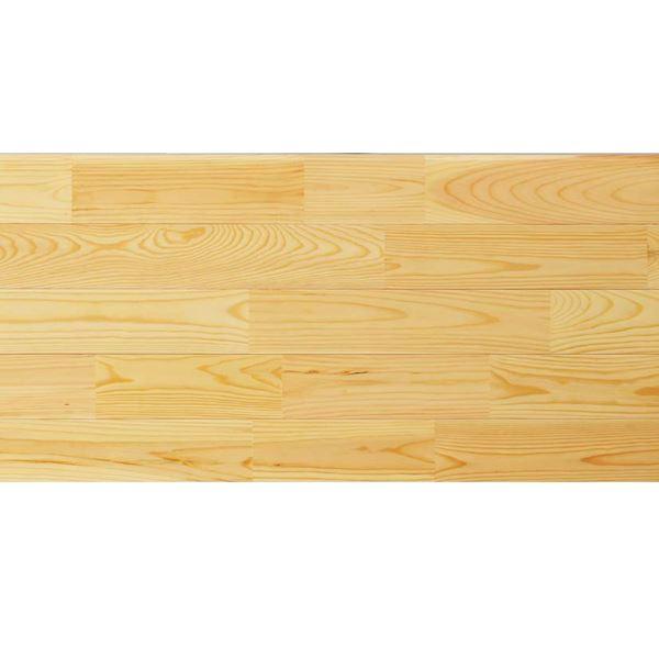 天然木部材 あづみの松 無地上小グレード UVハードコート塗装 幅114mm 8枚入り 受注生産 (クリア) #WPFL0018