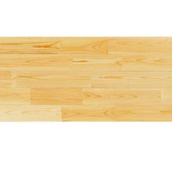 天然木部材 あづみの松 無地上小グレード Sコート塗装 幅114mm 8枚入り 受注生産 (クリア) #WPFL0512