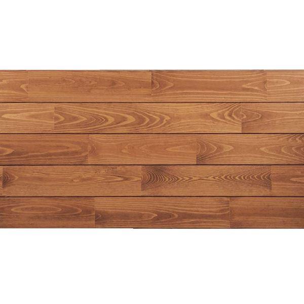プレイリーホームズ あづみの松 無地上小グレード Sコート塗装 幅152mm 6枚入り 受注生産 (ナッツブラウン) #WPFL0581