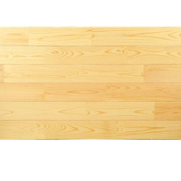 天然木部材 あづみの松 無地上小グレード Tコート塗装 幅114mm 8枚入り 受注生産 (クリア) #WPFL0518