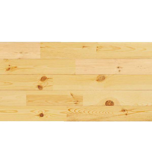 天然木部材 あづみの松 節有グレード 無塗装 幅114mm 8枚入り  #WPFL0098