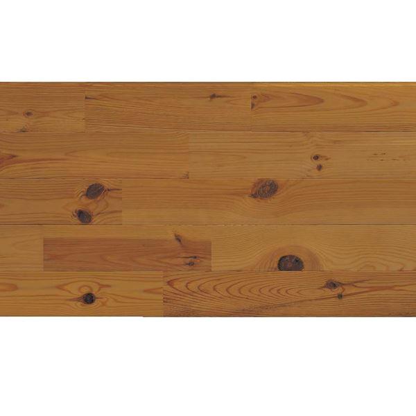 プレイリーホームズ エコプレーゼ あづみの松 節有グレード LIVOSオイル塗装 幅114mm 8枚入り 受注生産 (ダークブラウン色) #WPFL0106