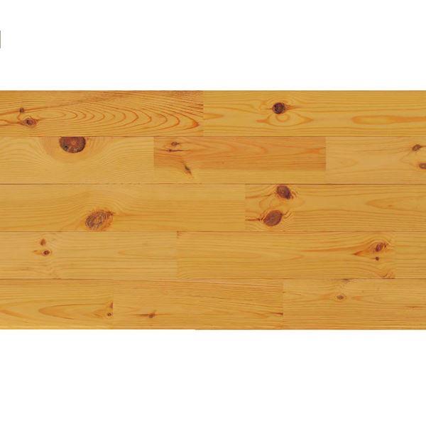 プレイリーホームズ エコプレーゼ あづみの松 節有グレード LIVOSオイル塗装 幅114mm 8枚入り 受注生産 (ウォルナット色) #WPFL0110