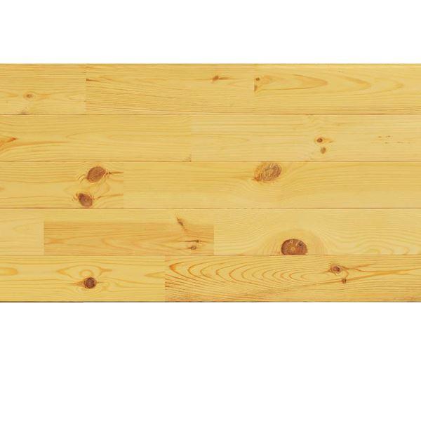 天然木部材 あづみの松 節有グレード UVハードコート塗装 幅114mm 8枚入り 受注生産 (クリア) #WPFL0099