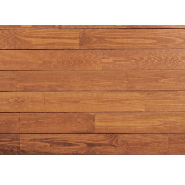 天然木部材 あづみの松 節有グレード UVハードコート塗装 幅152mm 6枚入り 受注生産 (ナッツブラウン) #WPFL0605