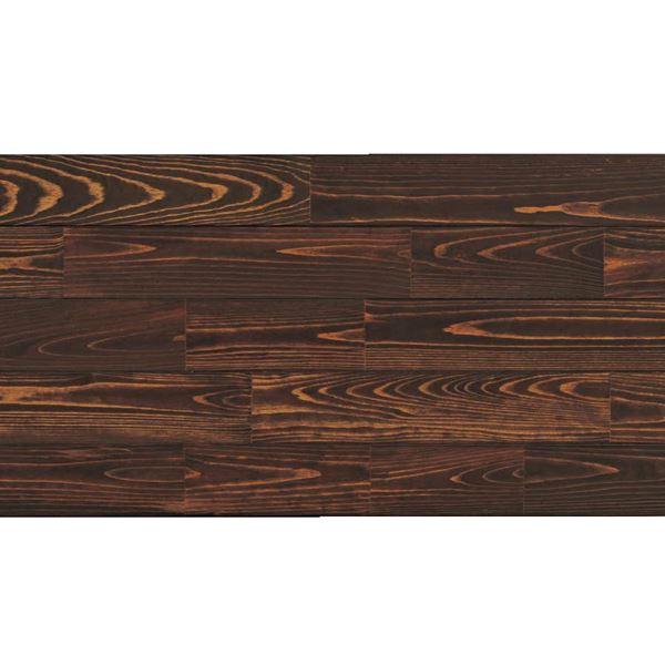天然木部材 あづみの松 節有グレード Tコート塗装 幅114mm 8枚入り 受注生産 (チョコレート) #WPFL0551