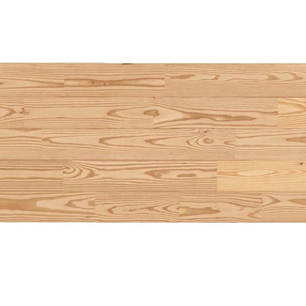 天然木部材 あづみのカラ松 無地上小グレード 無塗装 幅152mm 6枚入り  #WPFL0170
