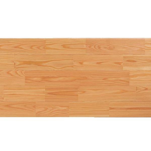 プレイリーホームズ あづみのカラ松 無地上小グレード Sコート塗装 幅152mm 6枚入り 受注生産 (クリア) #WPFL0644