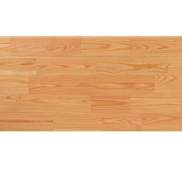 天然木部材 あづみのカラ松 無地上小グレード Tコート塗装 幅152mm 6枚入り 受注生産 (クリア) #WPFL0645
