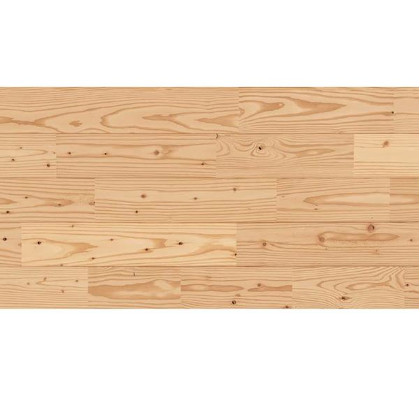 天然木部材 あづみのカラ松 節有グレード 無塗装 幅152mm 6枚入り  #WPFL0182